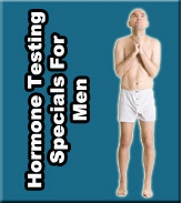 Testing and Hormone Special For Men